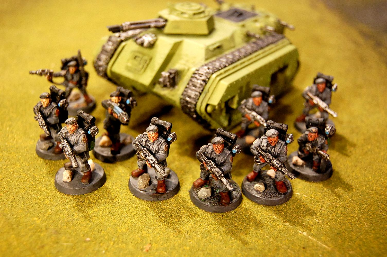 2nd Edition, Beret, Imperial Guard, Strom Troopers