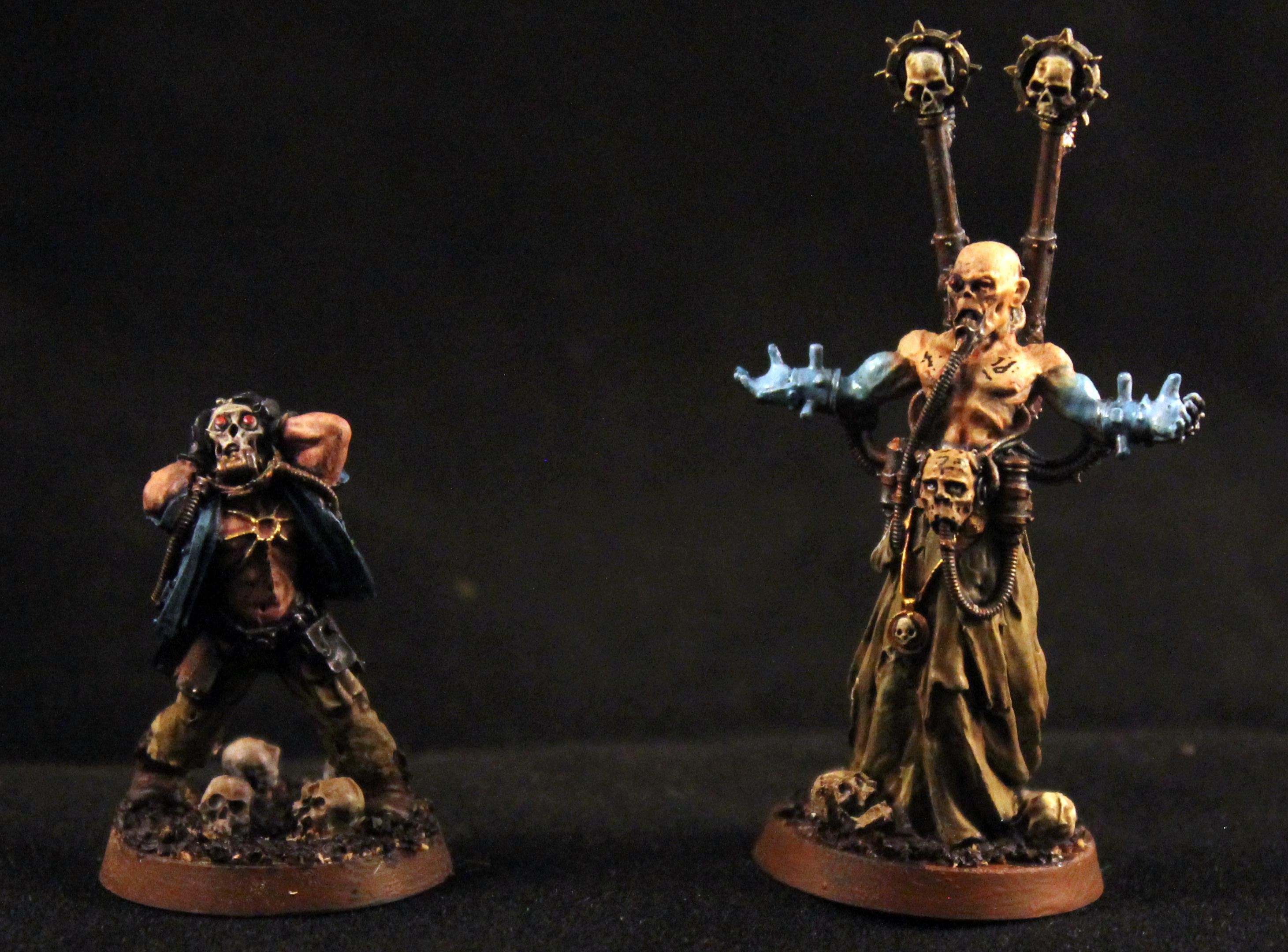 Chaos Psyker, Forge World, Games Workshop, Renegade Psyker, Warhammer 40,000