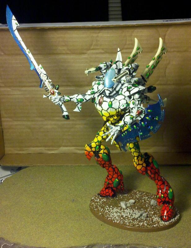 Eldar, Monstrous Creature, Warhammer 40,000, Wraith Knight