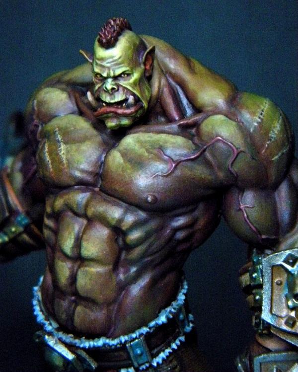 Custom Ork, Ork King, Ork Warlord, Orks, Warboss