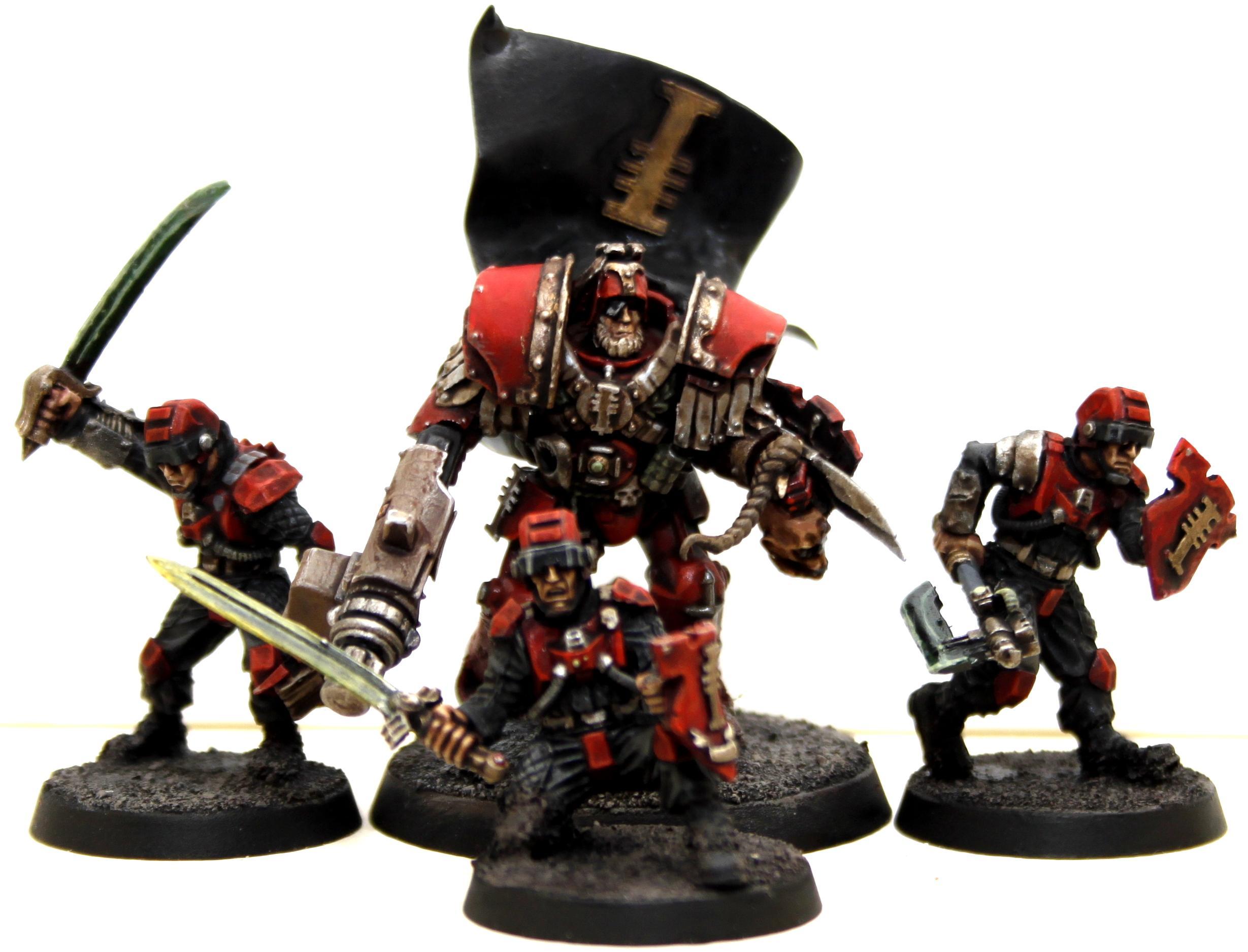 Inquisitor, Malleus, Ordos, Terminator Armor