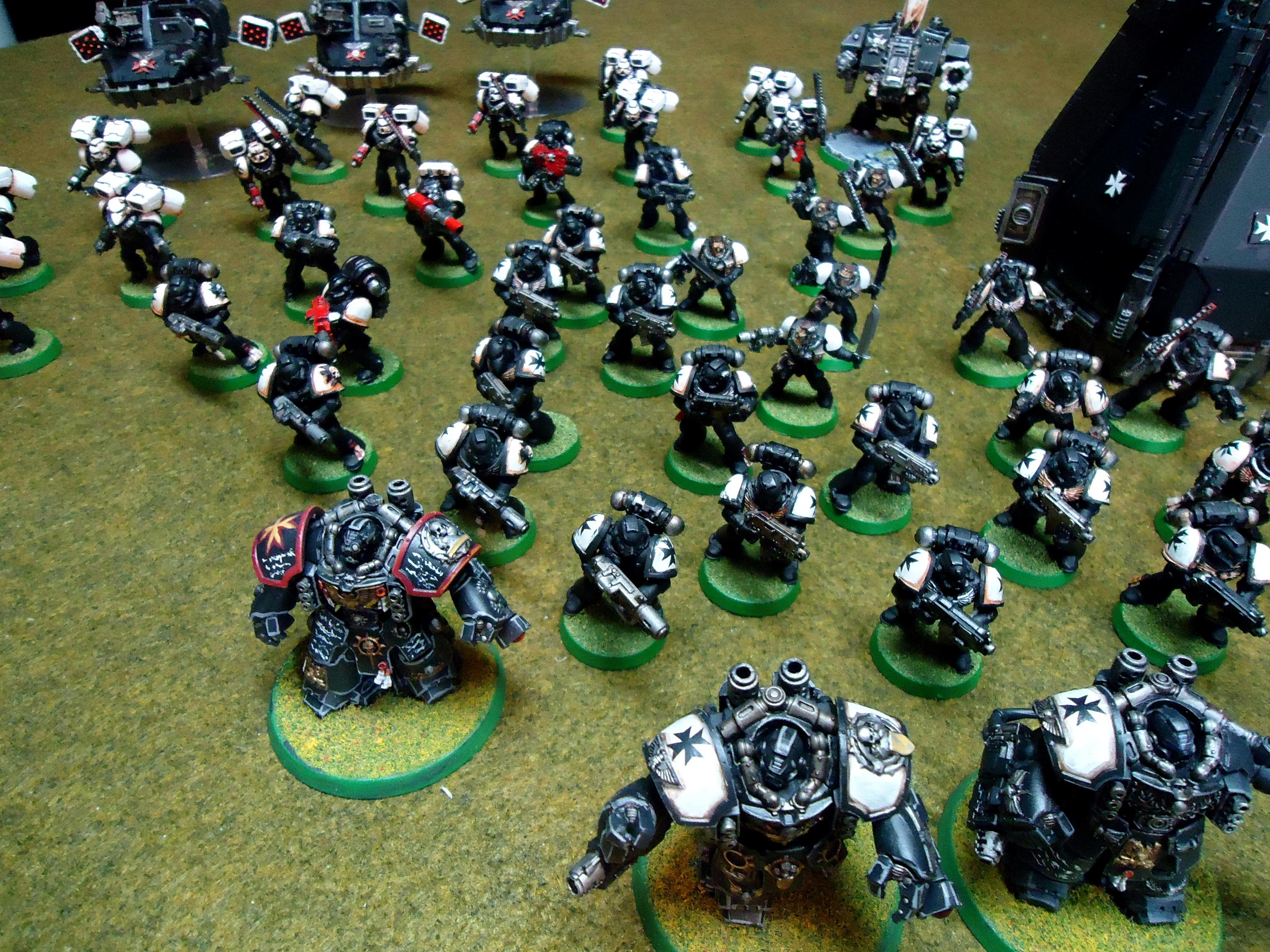 Black Templars, Centurions, Space Marines