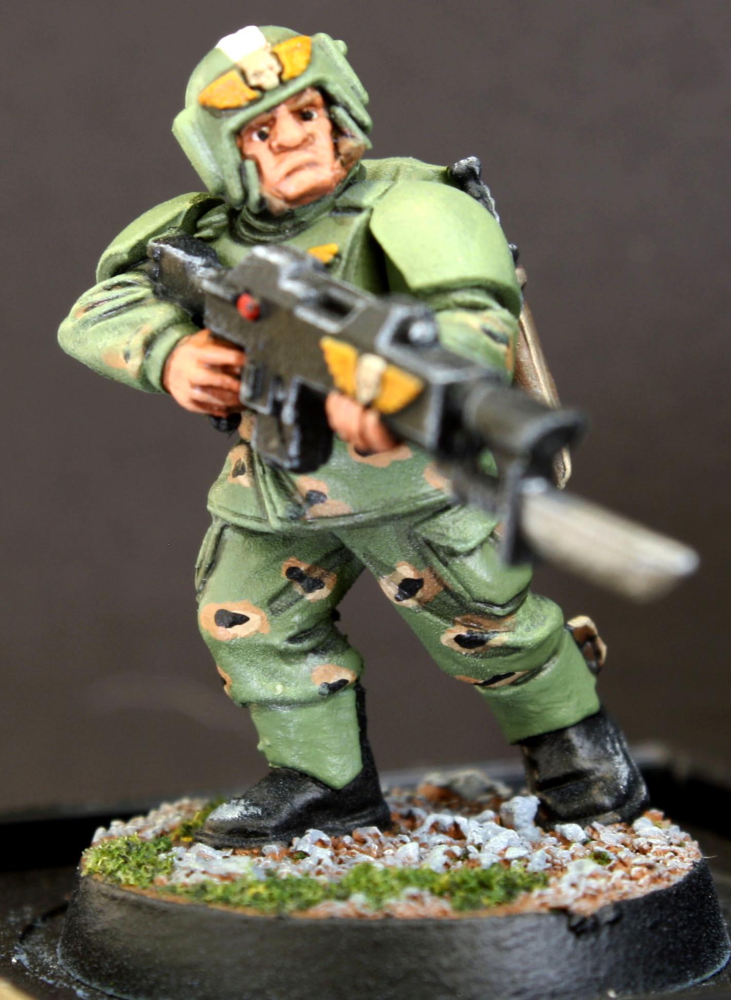 Astra Militarum, Cadians, Conscript, Imperial Guard