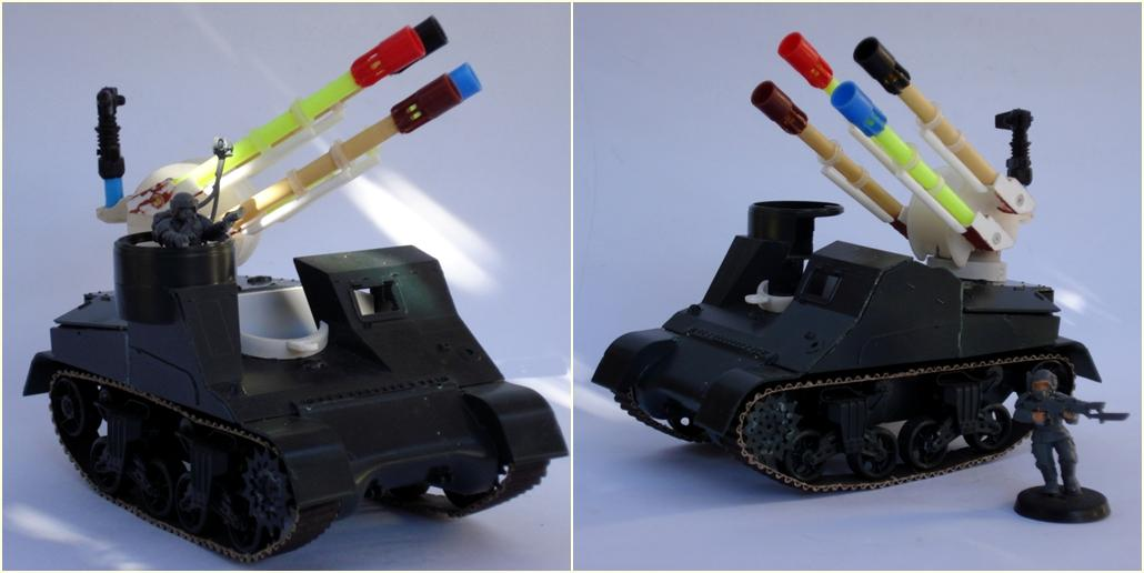 Chimera, Conversion, Imperial Guard, Vehicle