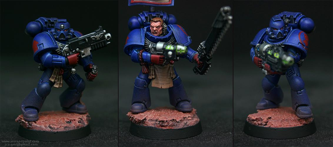 Blue, Chapter, Crimson Fists, Grav-gun, Jca, New