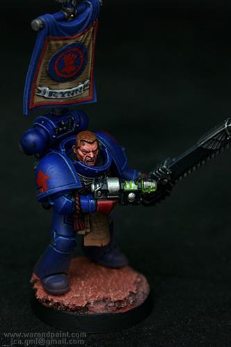 Blue, Crimson Fists, Jca, New, Sgt, Tactical