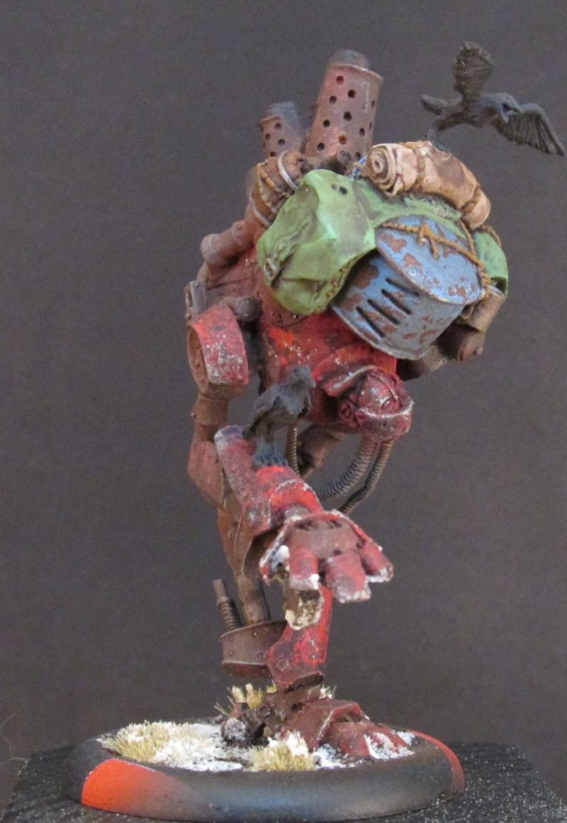 Khador, Old Witch Of Khador And Scrapjack, Warmachine