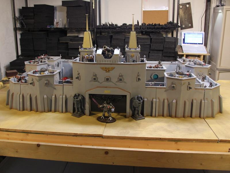 Fortress, Huge, Imperial Guard, Large, Terrain