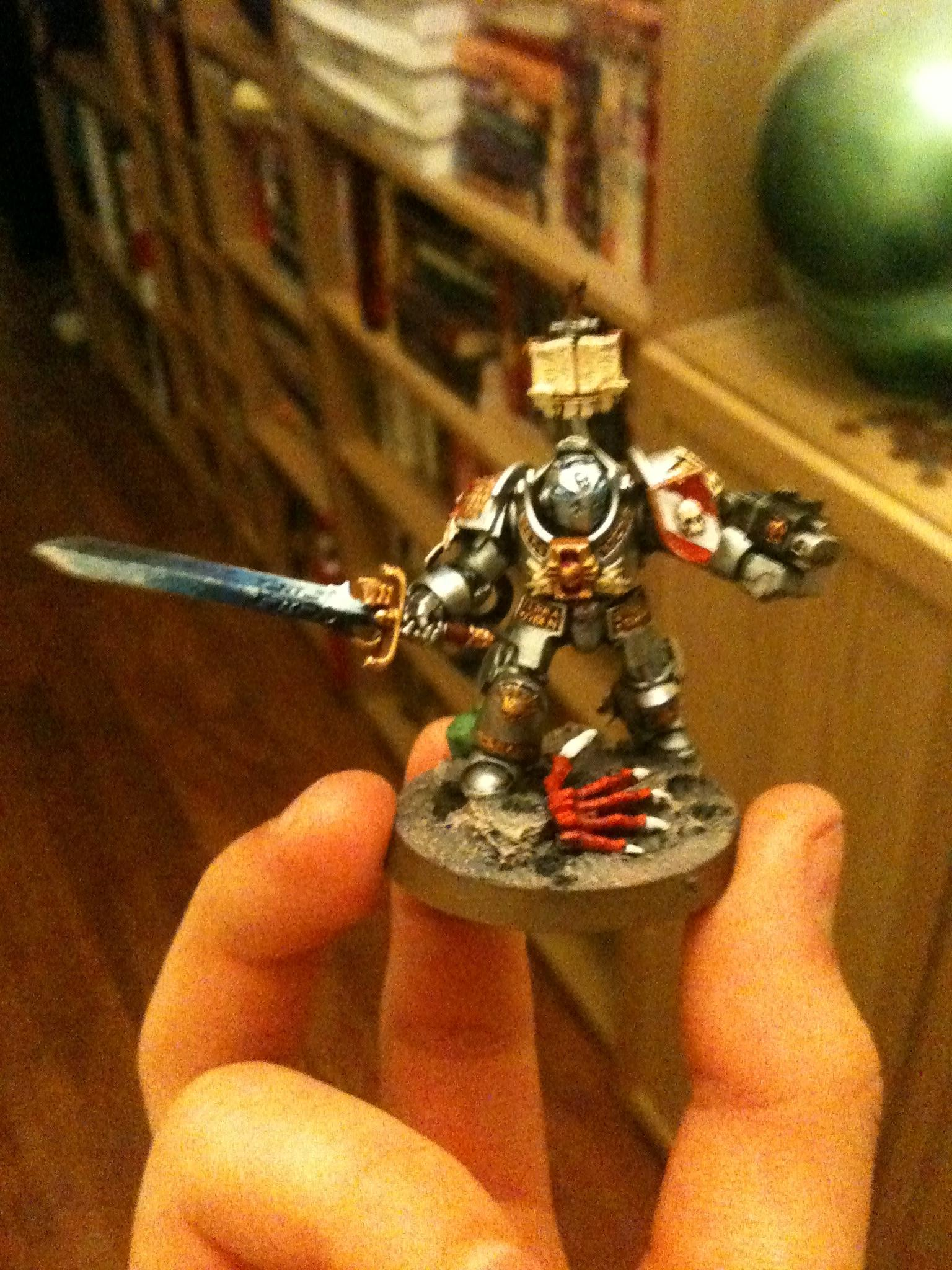 This was the first one I made and painted. A test run to see how the paints and everything work, ie glazes and basing.
