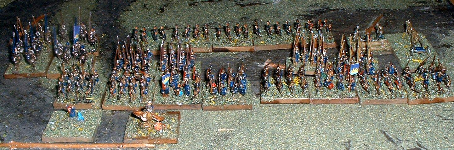 6mm, Army of New Haven