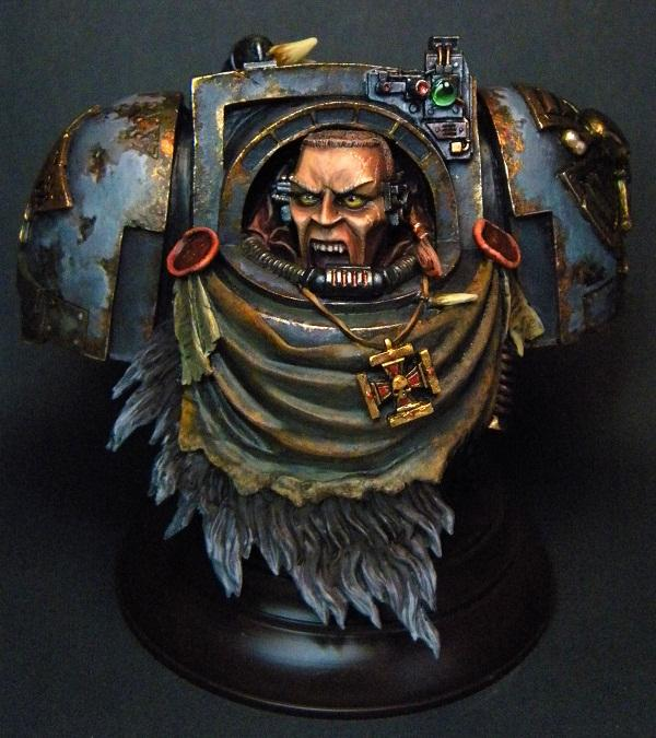 Bust, Space Wolves, Warhammer 40,000