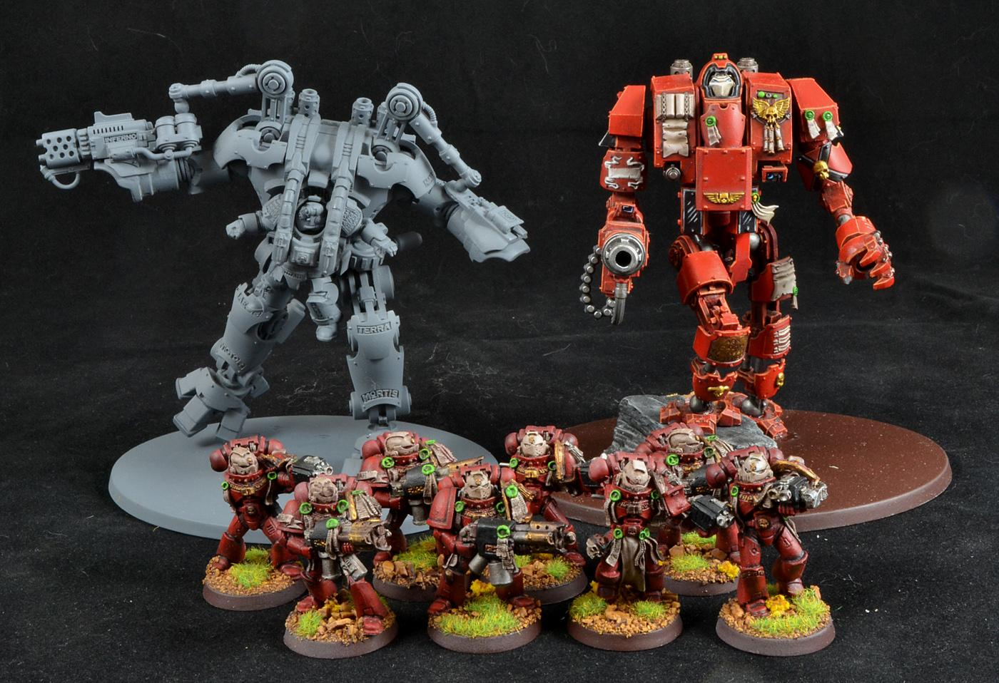 Dread Knights, Exorcists, Grey Knights, Warhammer 40,000