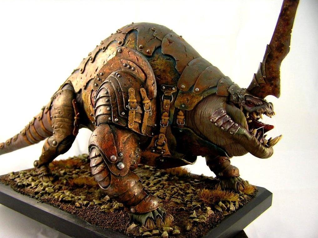 Monster, Rust, Warhammer Fantasy, Weathered