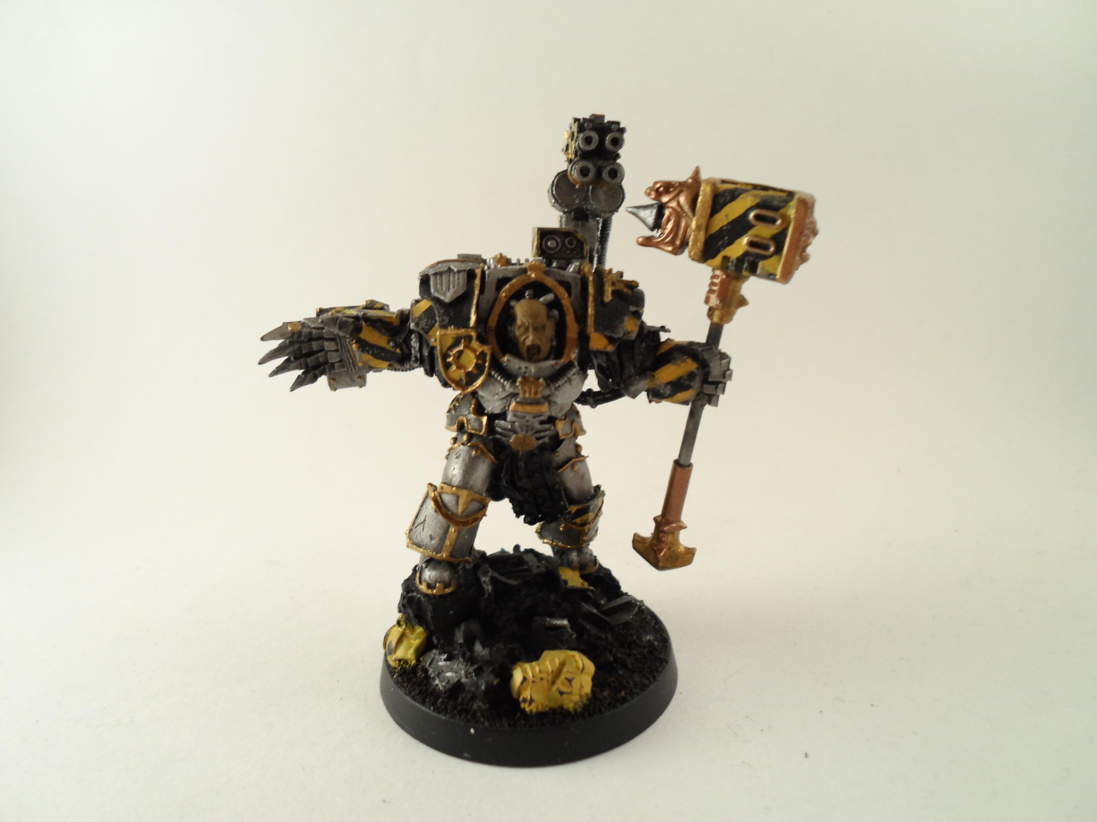 Chaos Spae Marine, Iron Warriors, Warhammer 40,000, Warsmith