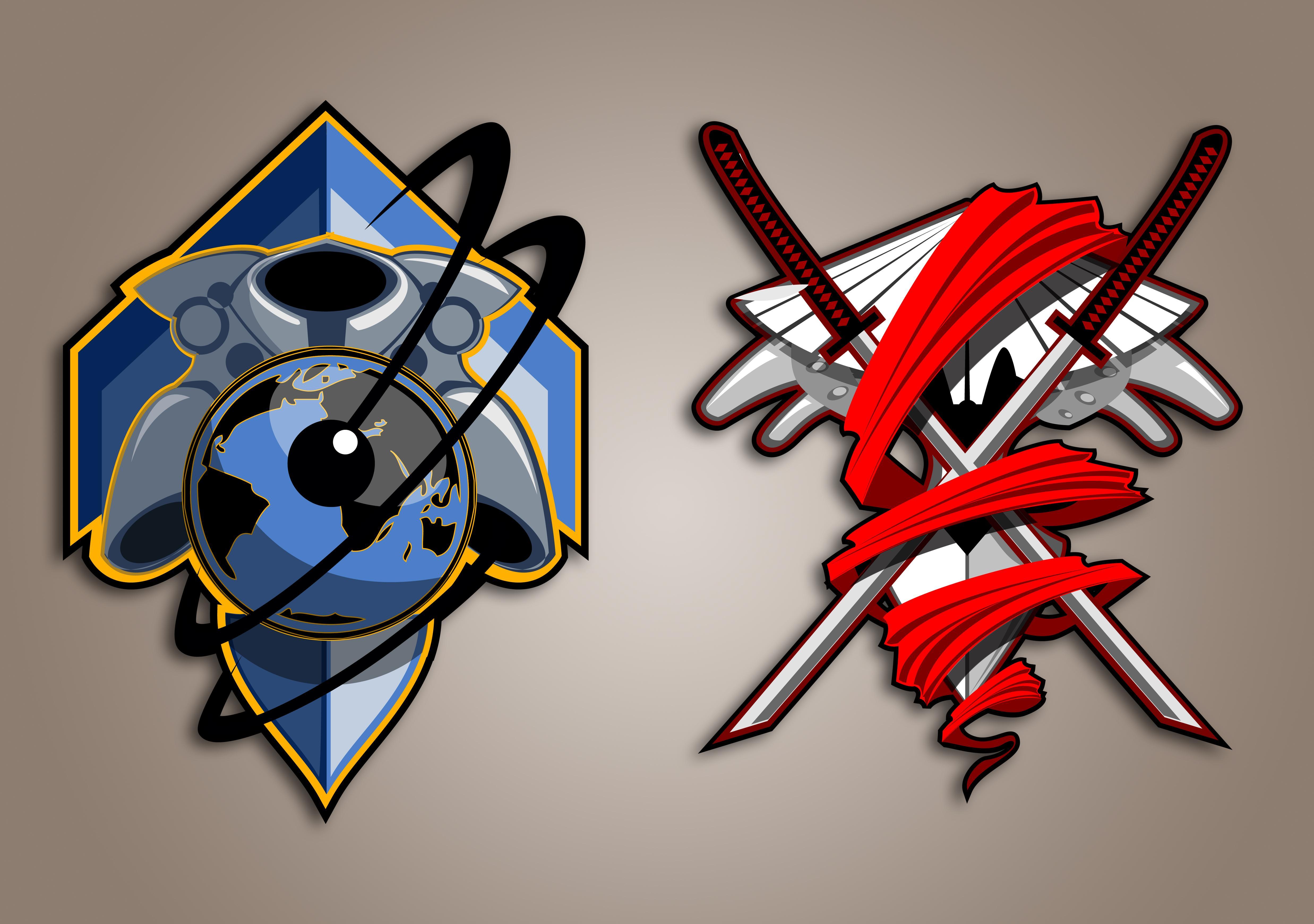 terran titans team bushido emblems