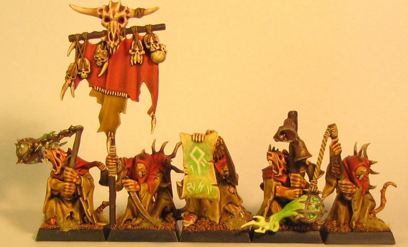 Object Source Lighting, Plague Monks, Skaven