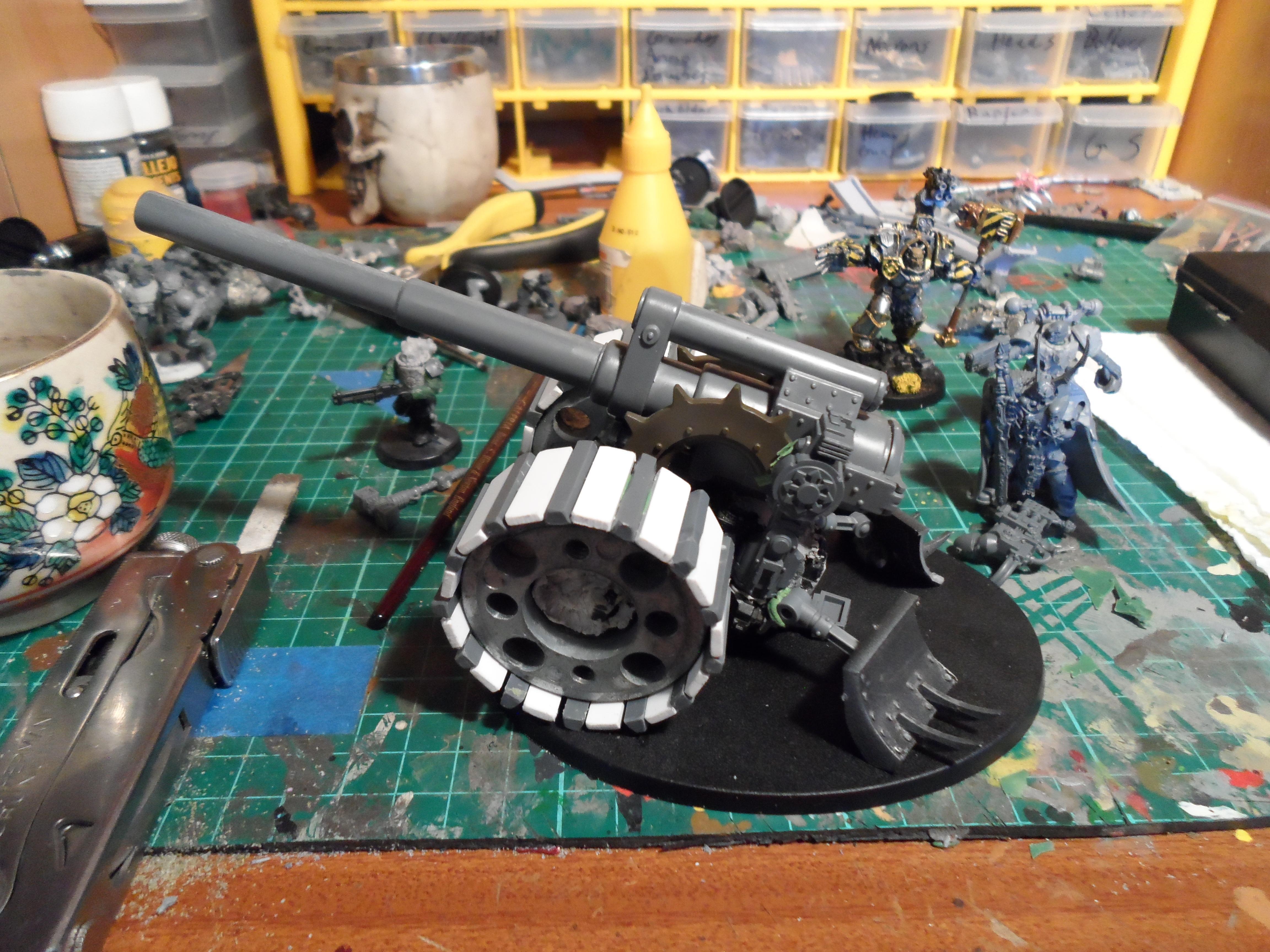 Heavy Artillery Carriage WIP