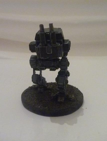 Armoured Sentinel, Cardboard, Imperial Guard, Paper, Paperhammer, Scratch Build, Sentinel
