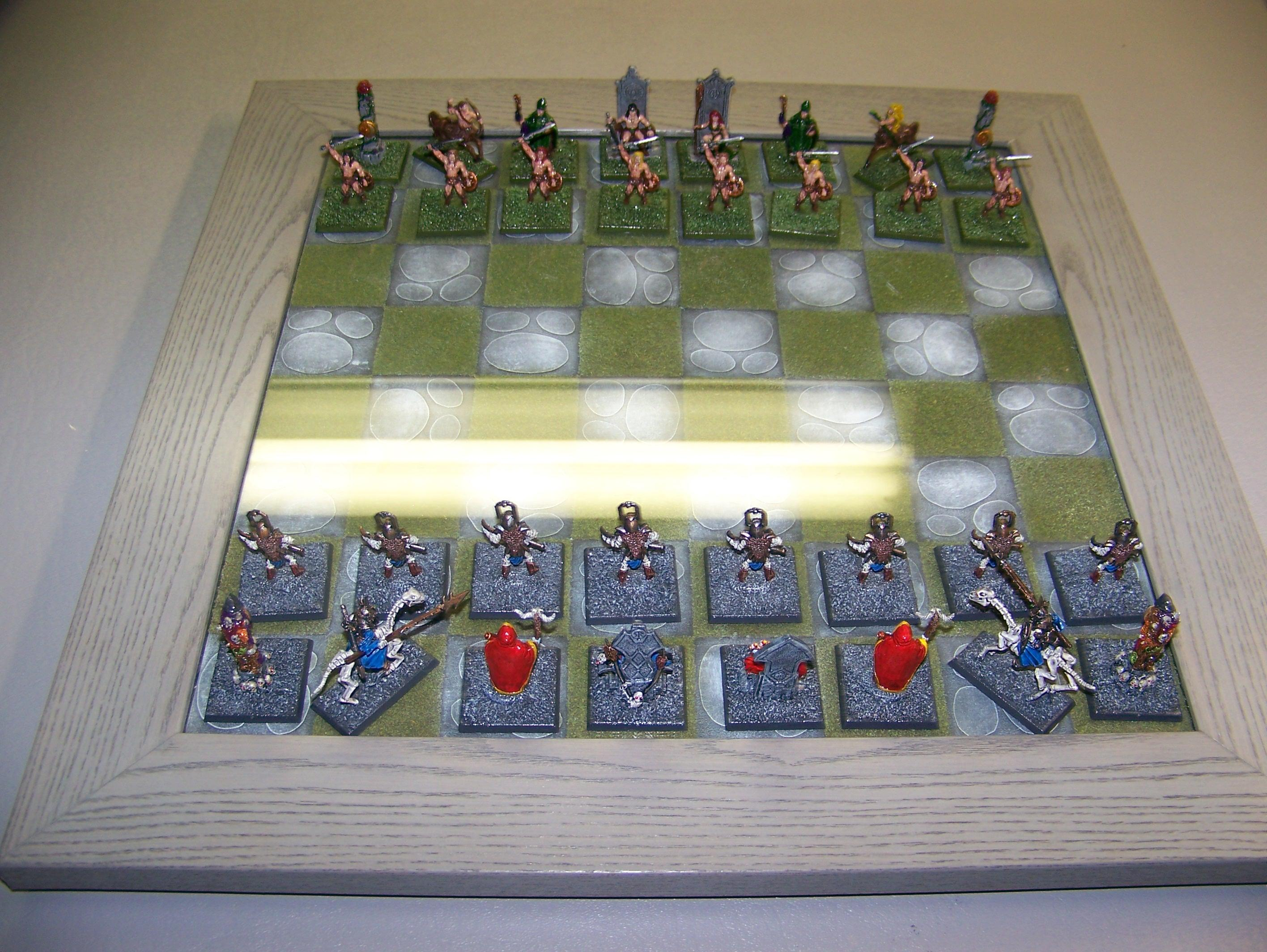 Barbarian, Chess, Reaper, Undead