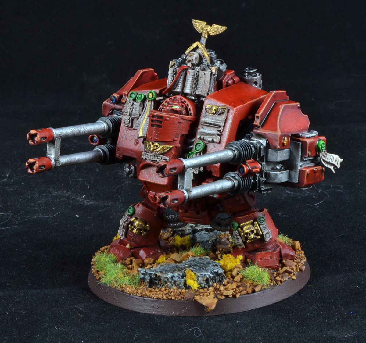 Dreadnought, Exorcists, Grey Knights, Rifleman, Space Marines, Warhammer 40,000