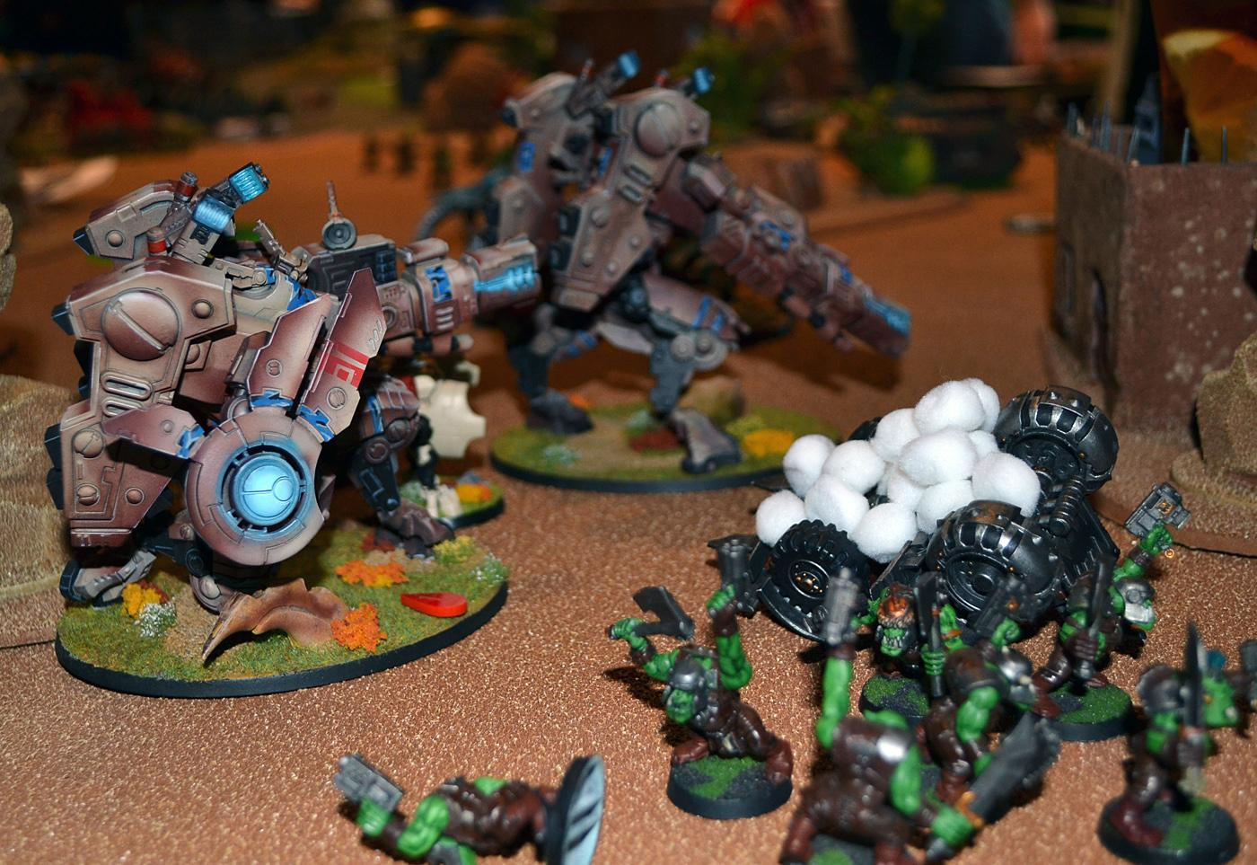 Necrons, Rumble In The Tundra, Warhammer 40,000