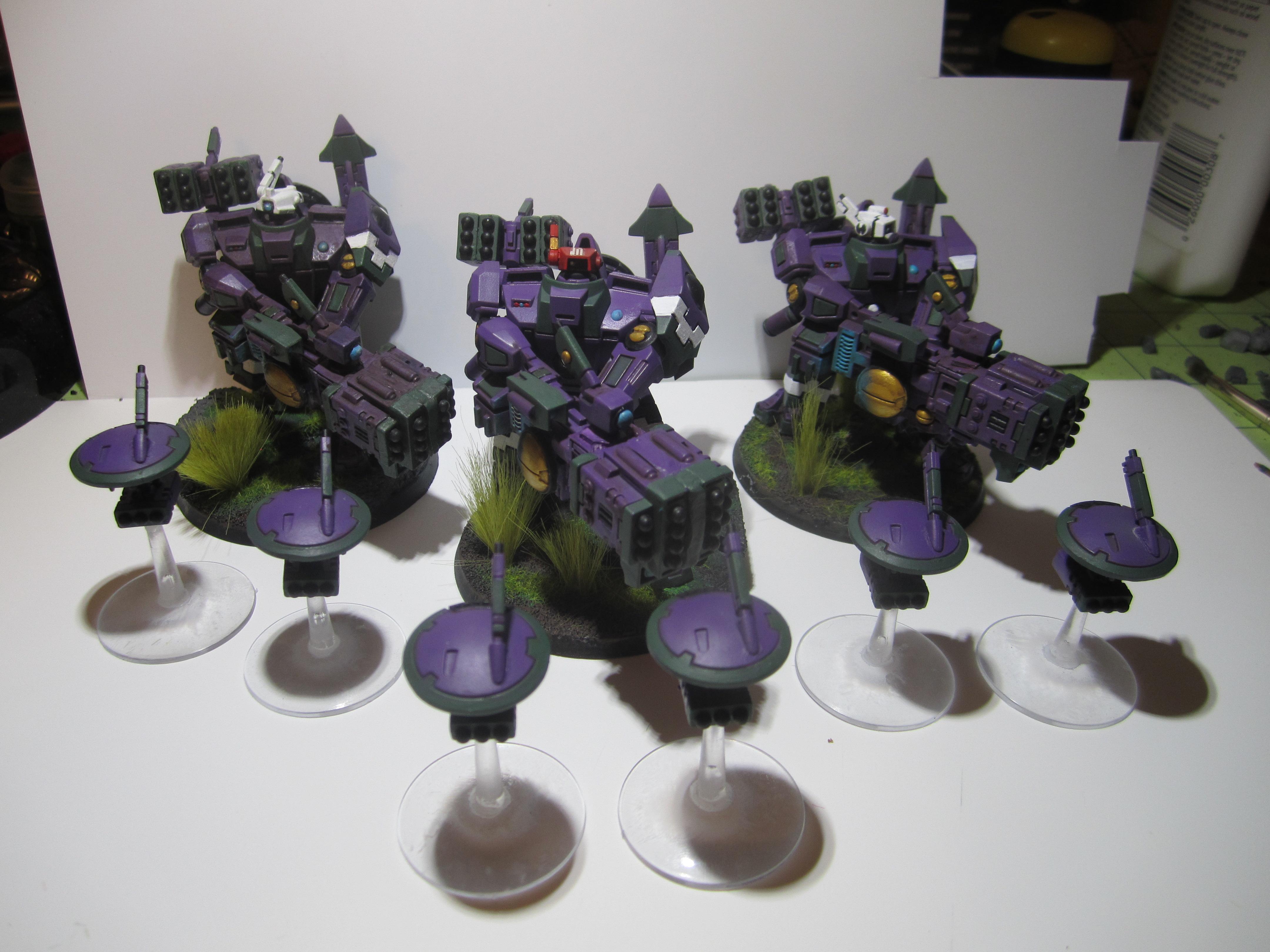 Army, Broadsides, Tau, Warhammer 40,000, Xv-88