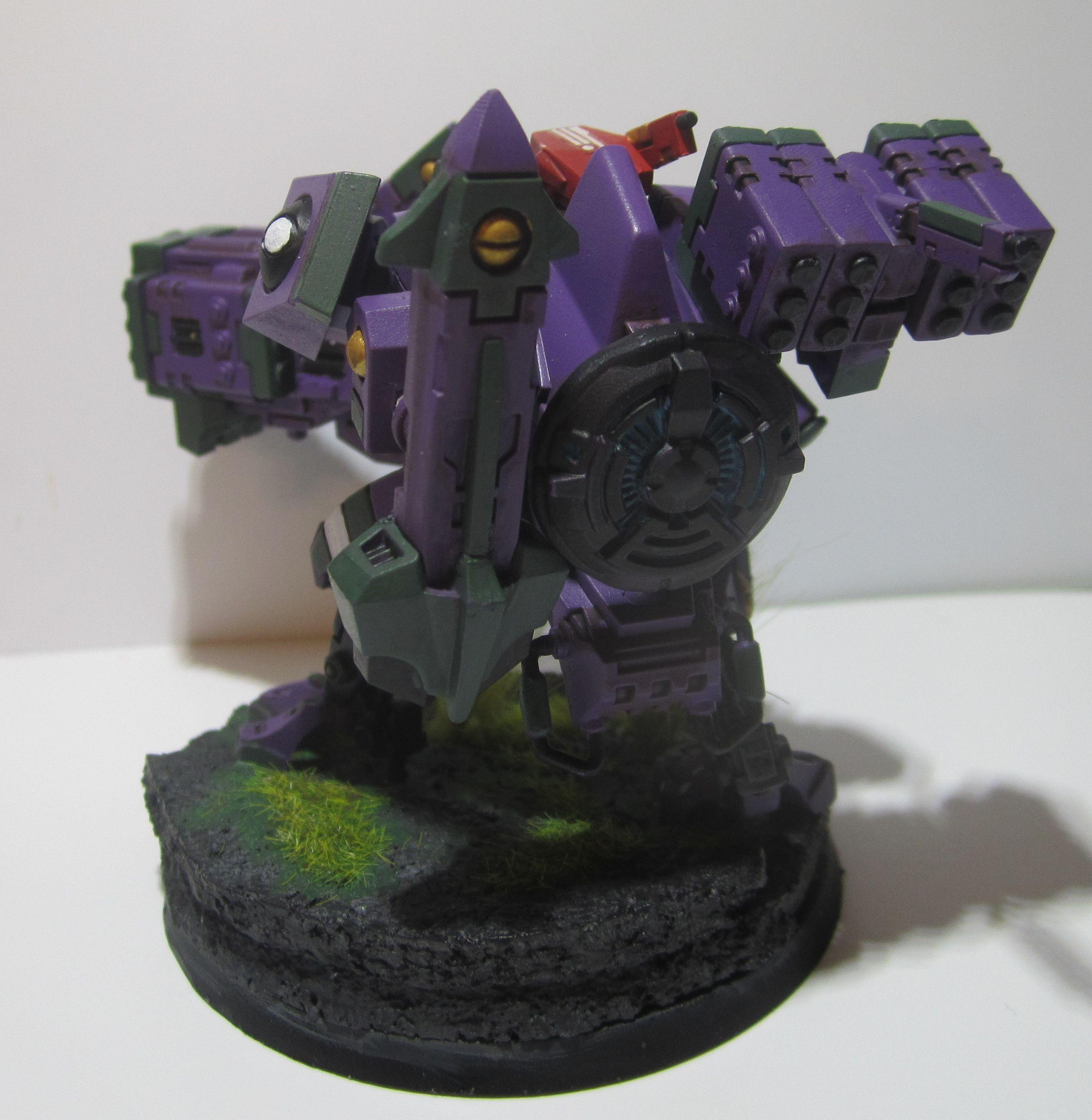 Army, Broadsides, Conversion, Tau, Warhammer 40,000, Xv-88