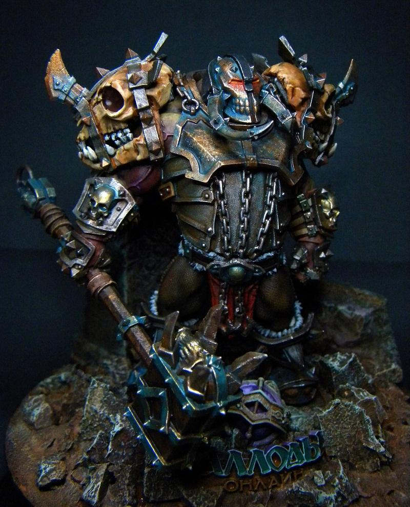 Big, Boss, Orcs, Orks, Warboss