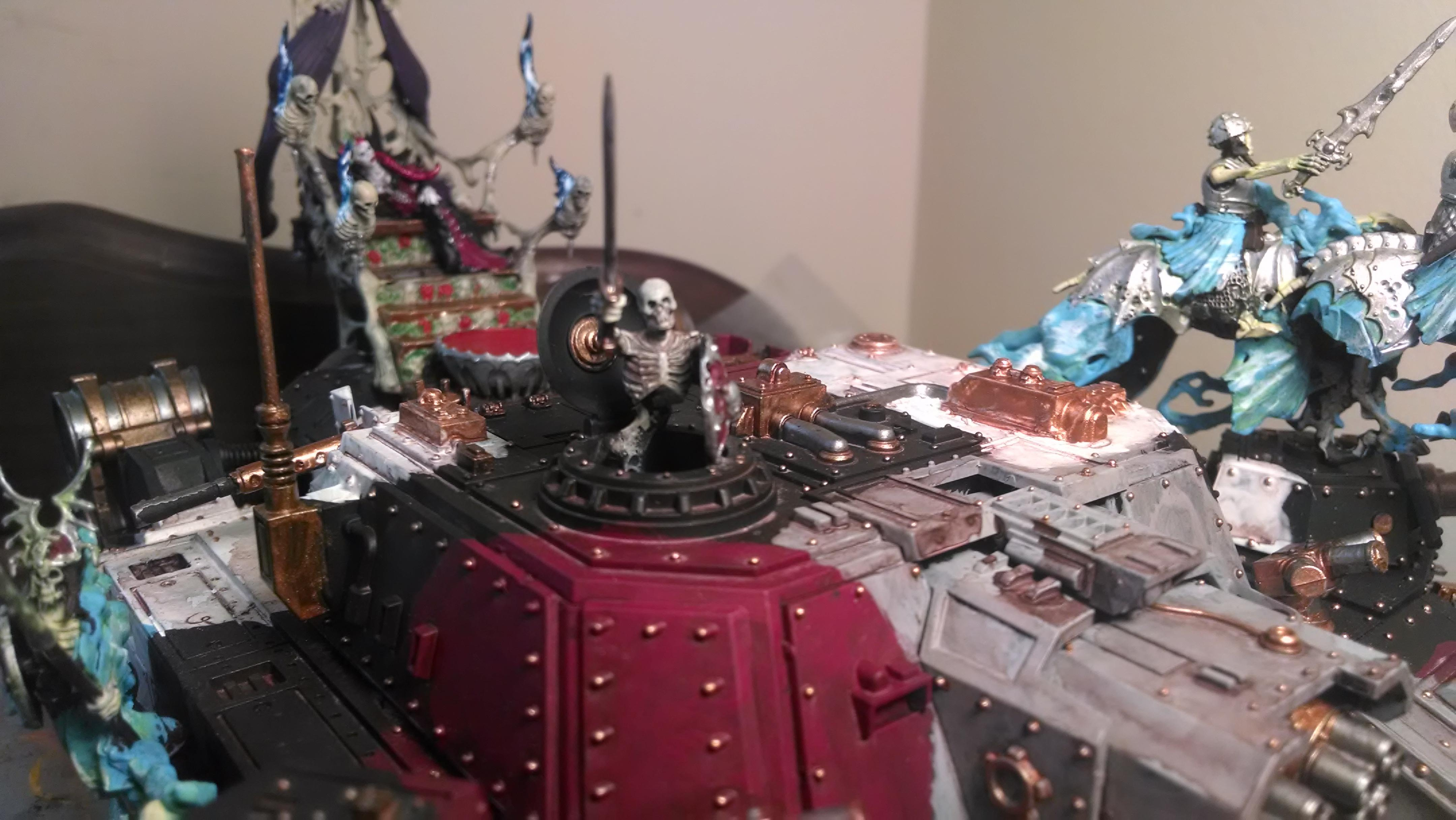 Blood, Conversion, Guard, Imperial, Imperial Guard, Stormlord, Super-heavy, Undead, Vampire, Warhammer 40,000