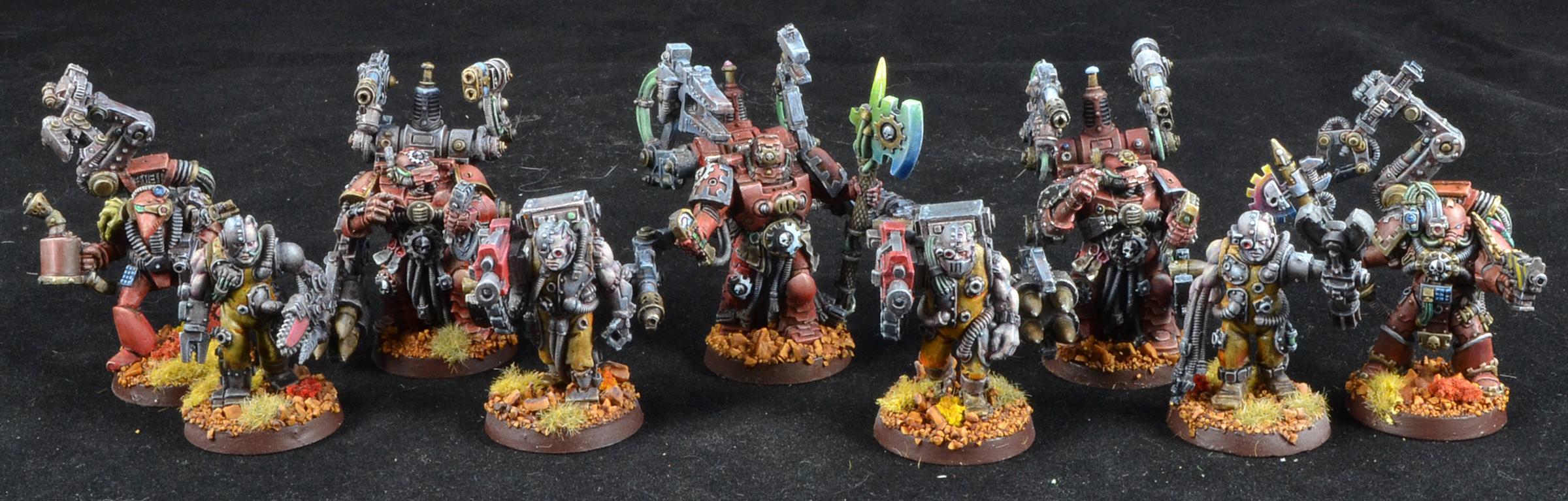 Mantis Warriors, Servitors, Space Marines, Tech Marines, Warhammer 40,000, Weetyskemian44