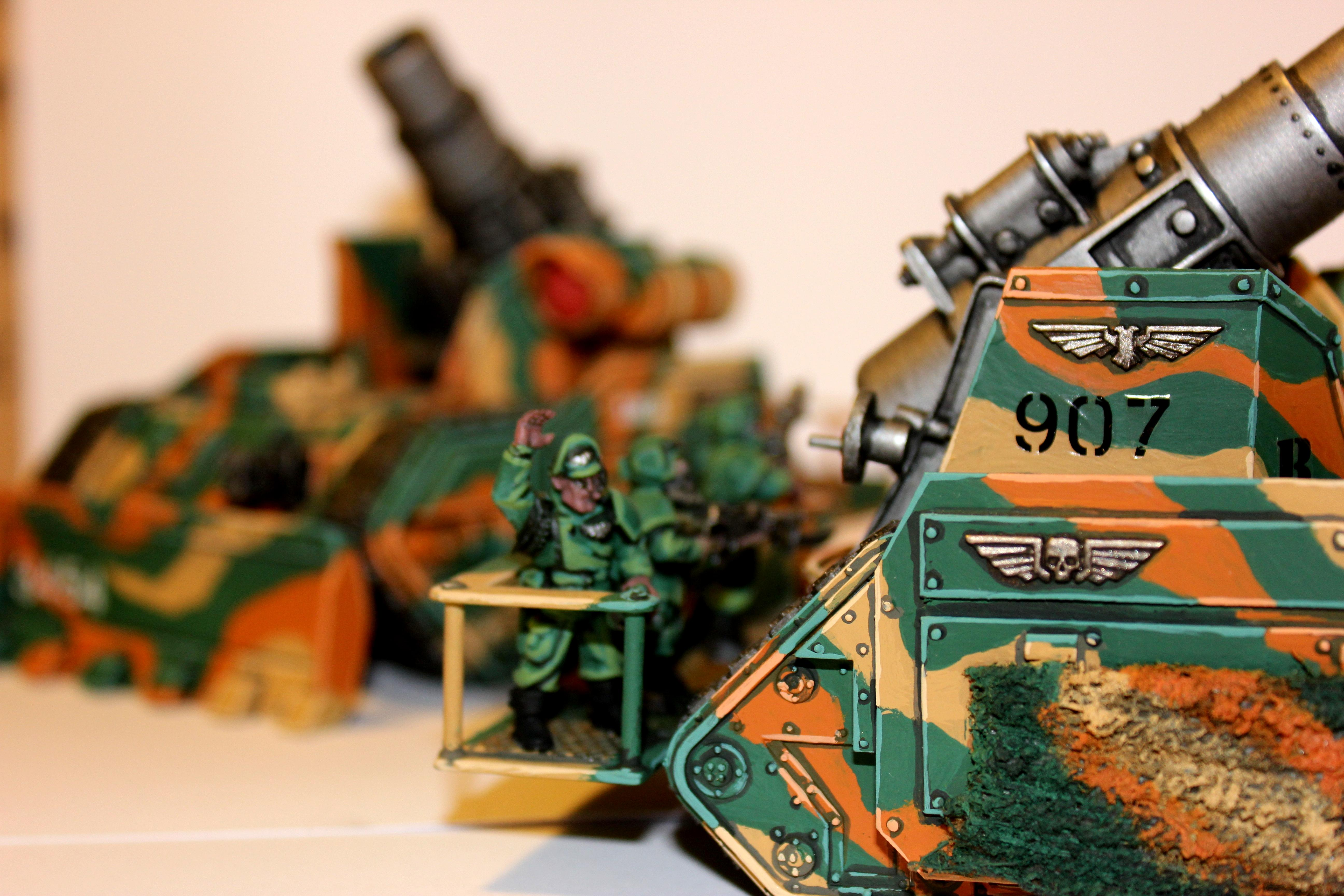 Artillery, Astra Militarum, Basilisk, Conversion, Demolisher, Greif, Imperial Armee, Imperial Guard, Imperiale Armee, Kolossus, Lasercannon, Leman Russ, Medusa, Multilase, Panzer, Tank, Warhammer 40,000