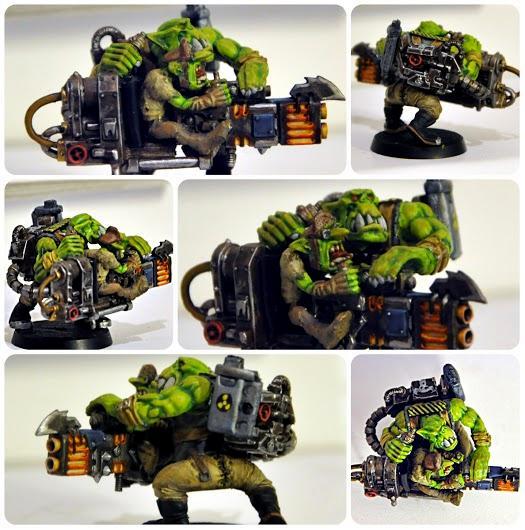 Big Gunz, Conversion, Custom Lootaz, Dakka Dakka, Deathskulls, Greenstuff, Gretchin, Grots, Lootaboy, Lootas, Lootaz, Orks, Waaagh!
