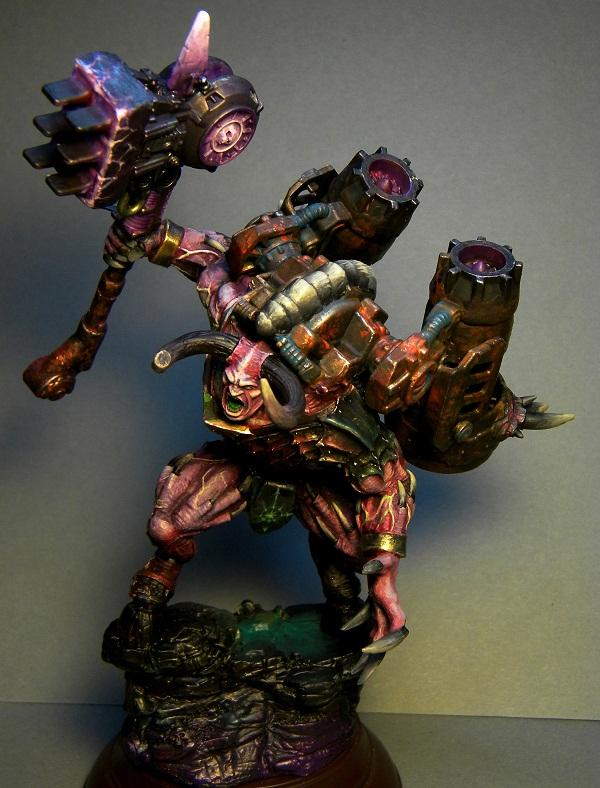 Awesome, Daemon Prince, Daemons, Hammer, Monster