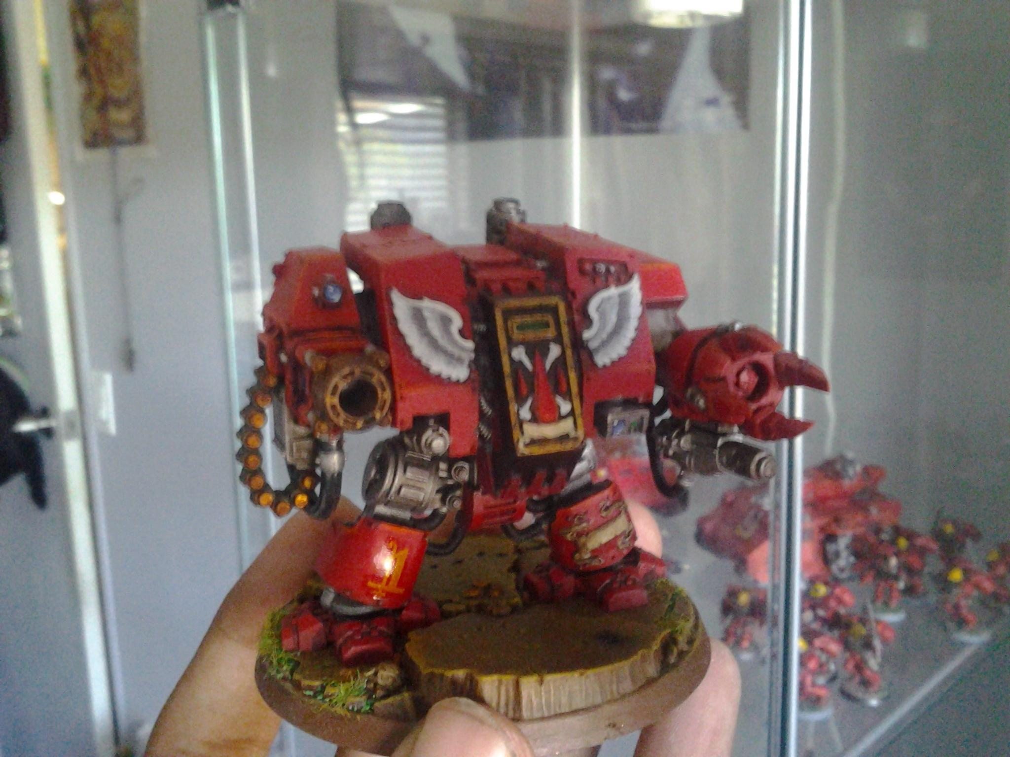 Angel, Awesome, Blood Angels, Dreadnought, Frag, Furioso, Red, Space Marines, Warhammer 40,000