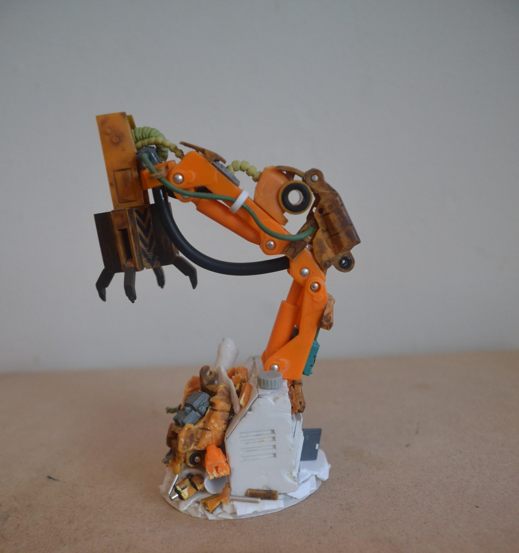 Arms, Junk, Robot, Terrain