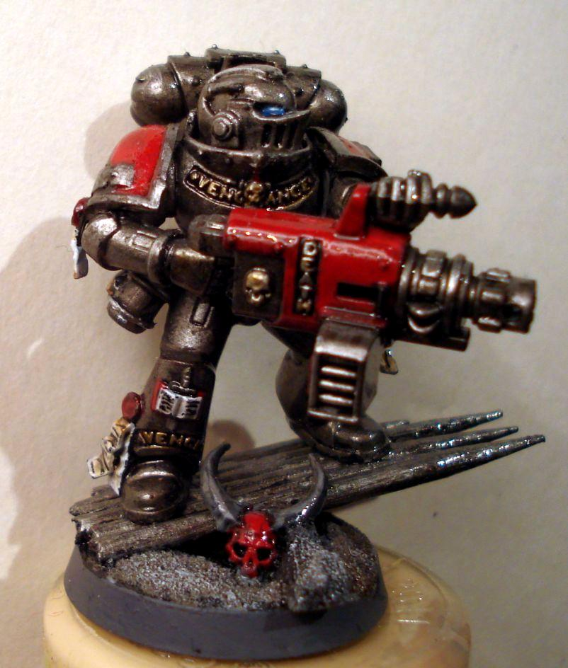 Base, Grey Knights, Heavy Bolter, Inquisition, Power Armour, Psycannon, Psyker, Strike Squad, Troops