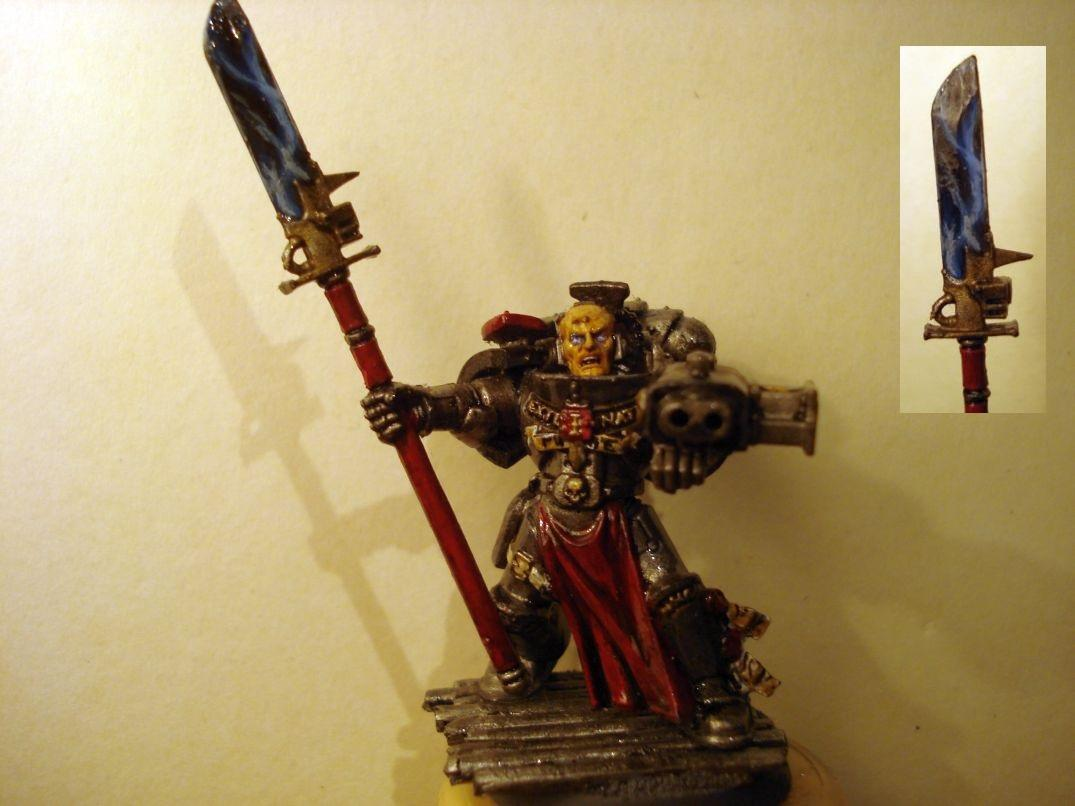 Face, Grey Knights, Halberd, Inquisition, Justicar, Power Armour, Psyker, Strike Squad