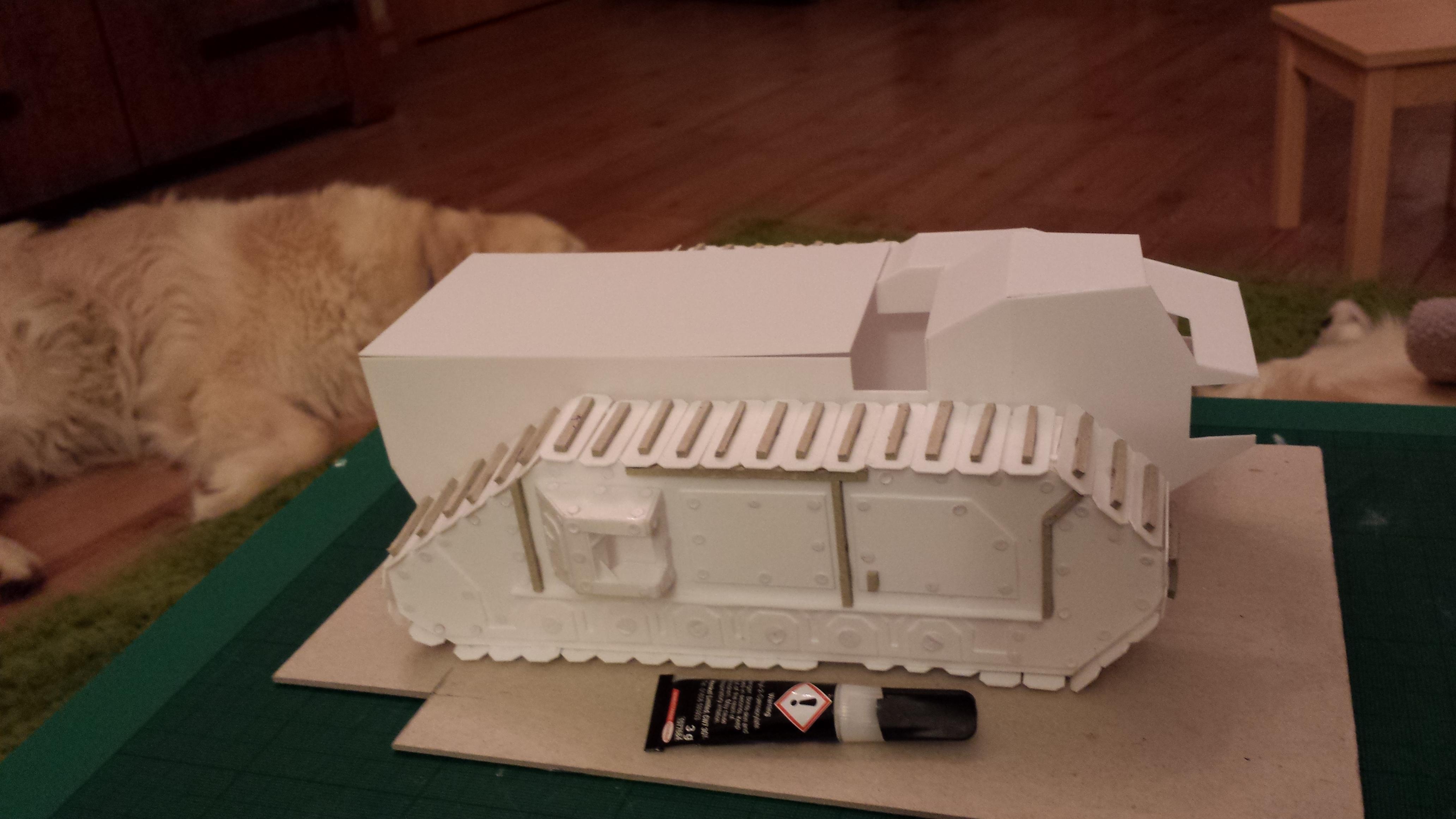 Crassus, Crassus Armoured Assault, Imperial Guard, Troop Carrier