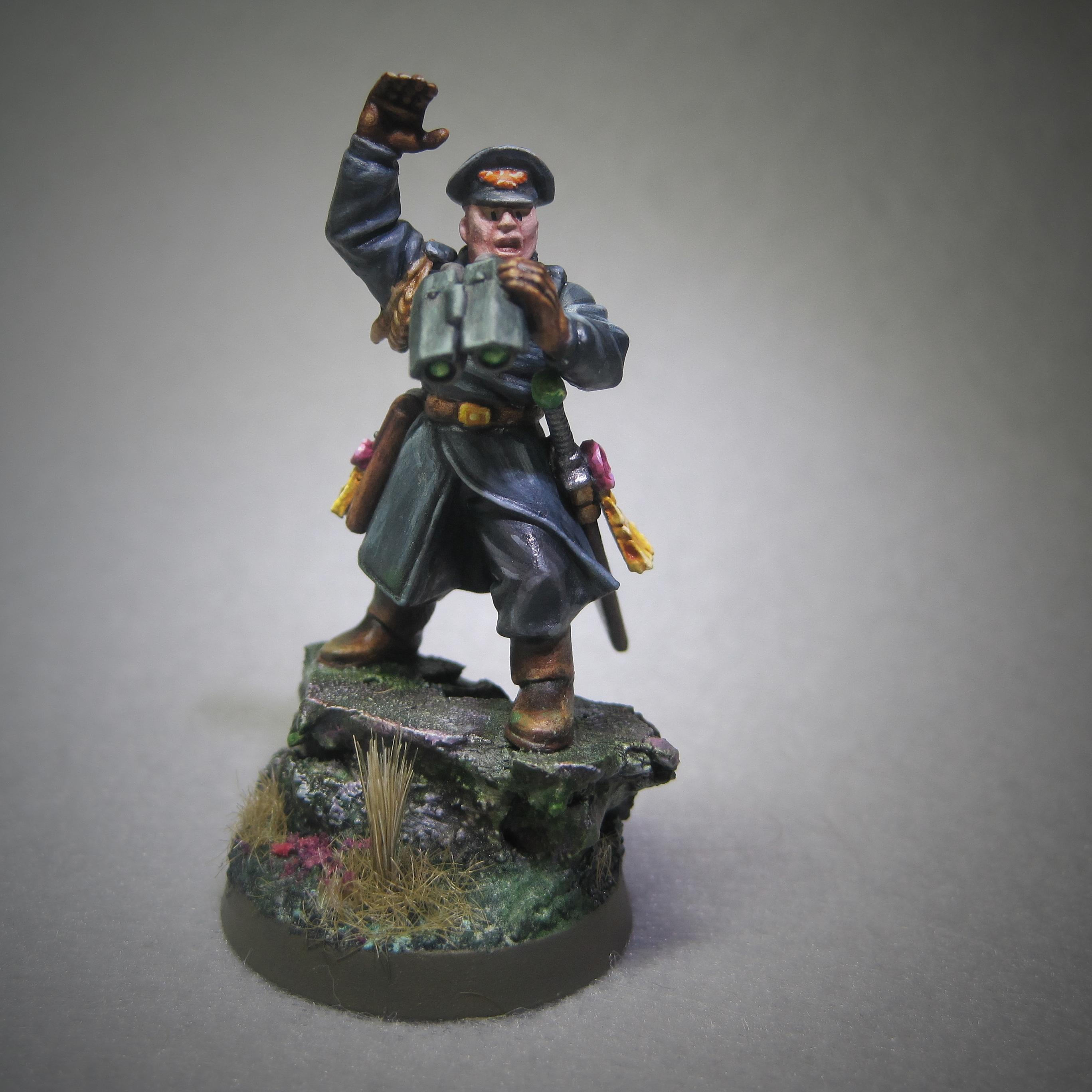 Imperial Guard, Inducted, Inquisitor, Veteran, Warhammer 40,000