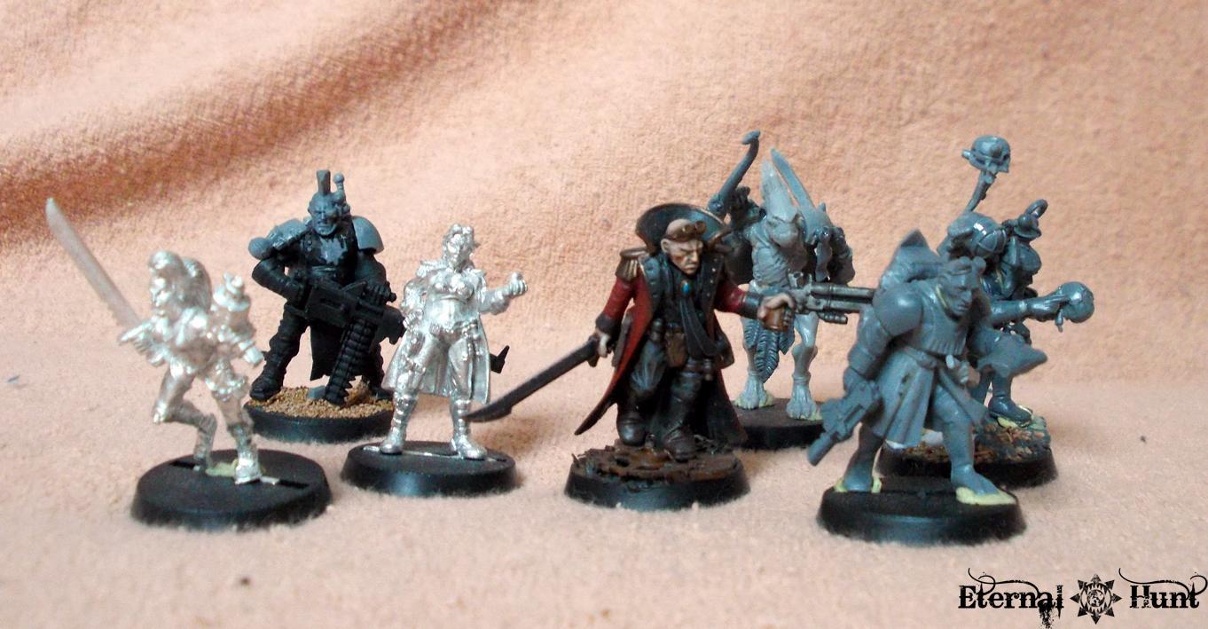 Conversion, Inq28, Inquisitor, Inquisitor 28, Inquisitor Titus Alvar, Kitbash, Ordo Xenos, Retinue, Warband, Warhammer 40,000, Work In Progress