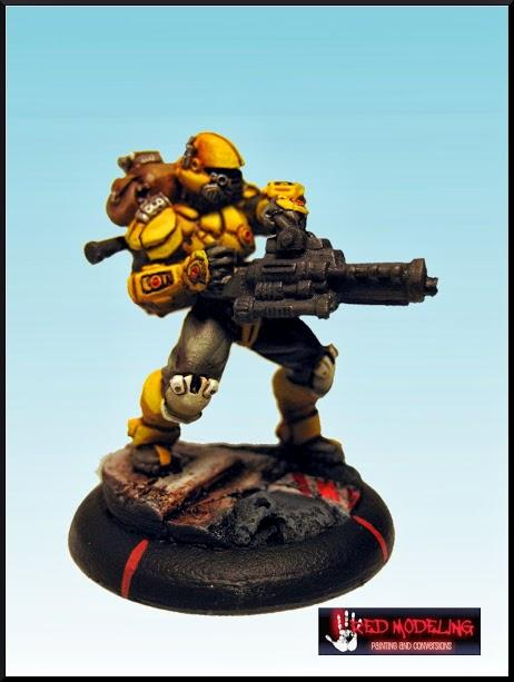 2 Brush Blending, Airbursh, Airburshing, Base, Blend, Blending, Ccc, Highlight, Highlighting, Mercenary, Paintjob, Yellow