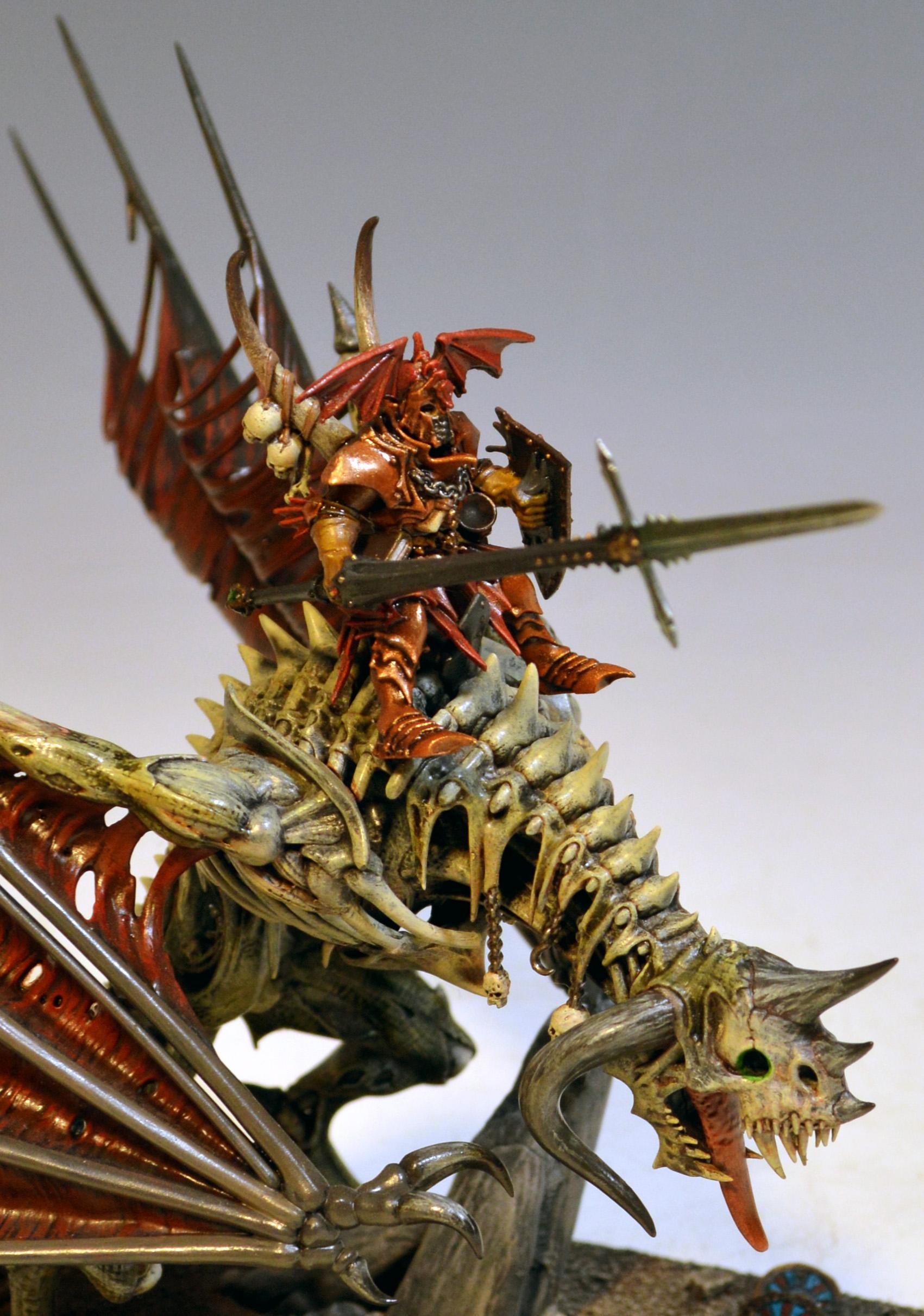 Abhorash, Vampire, Zombie Dragon
