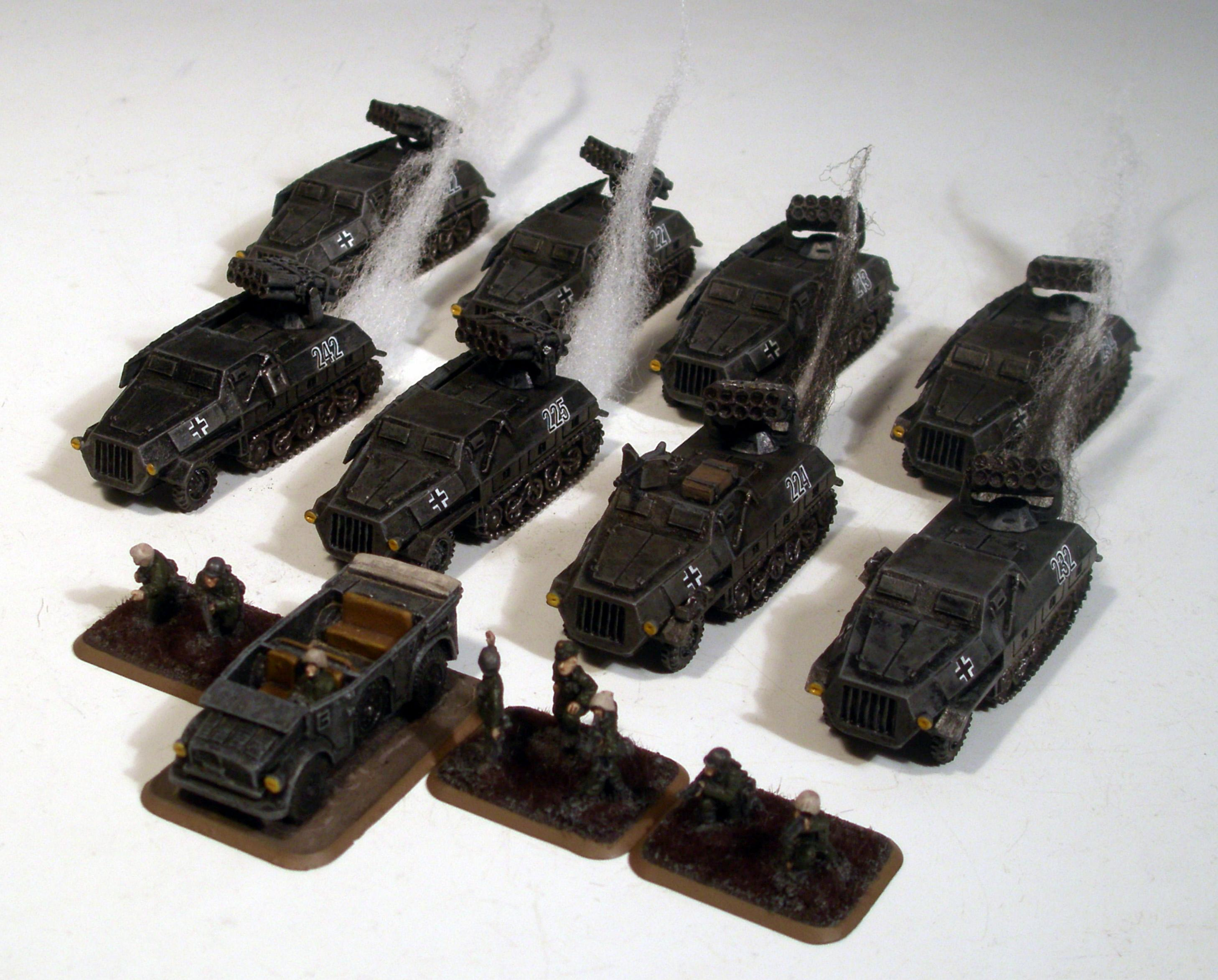 Flames Of War, Germans, Panzer, Rocket Battery