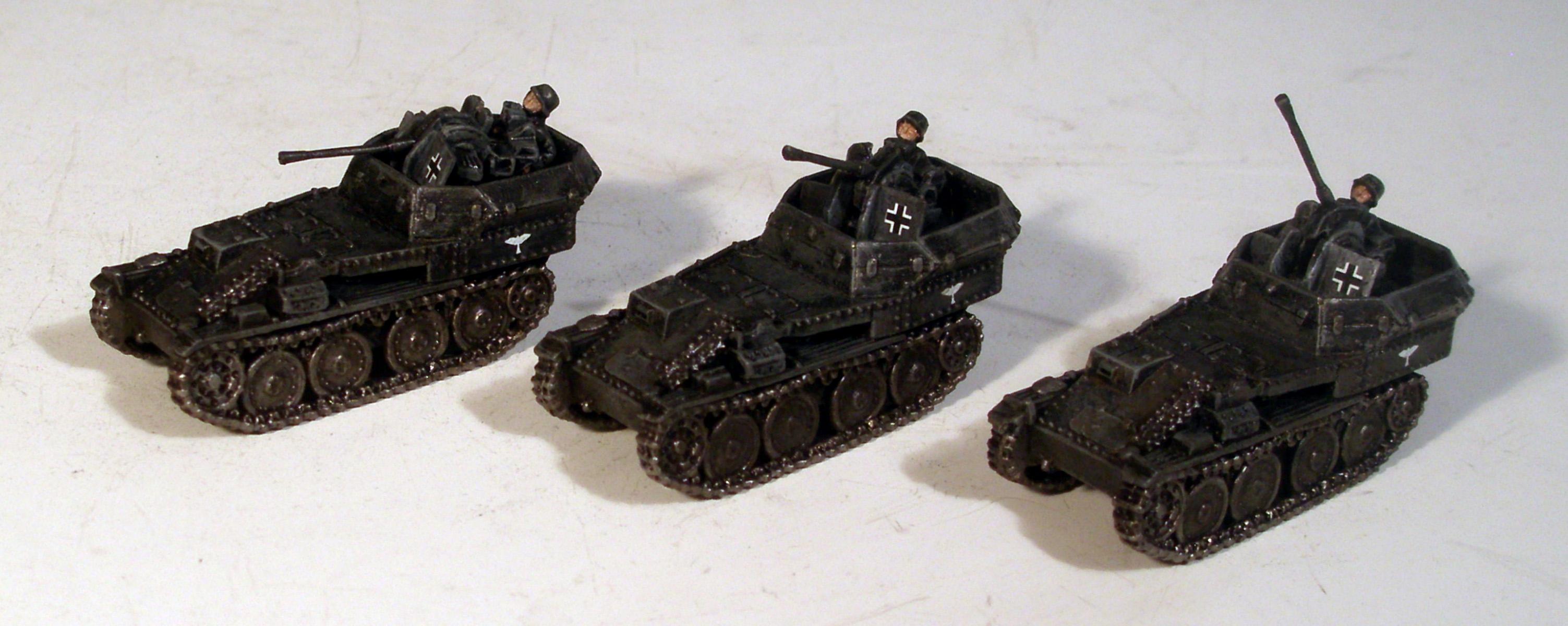 Flak, Flames Of War, Germans, Panzer