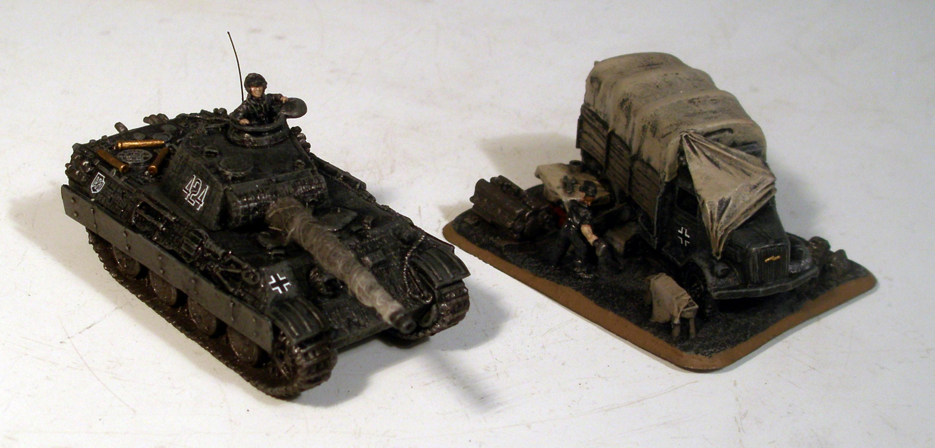 Flames Of War, Germans, Panther, Panzer