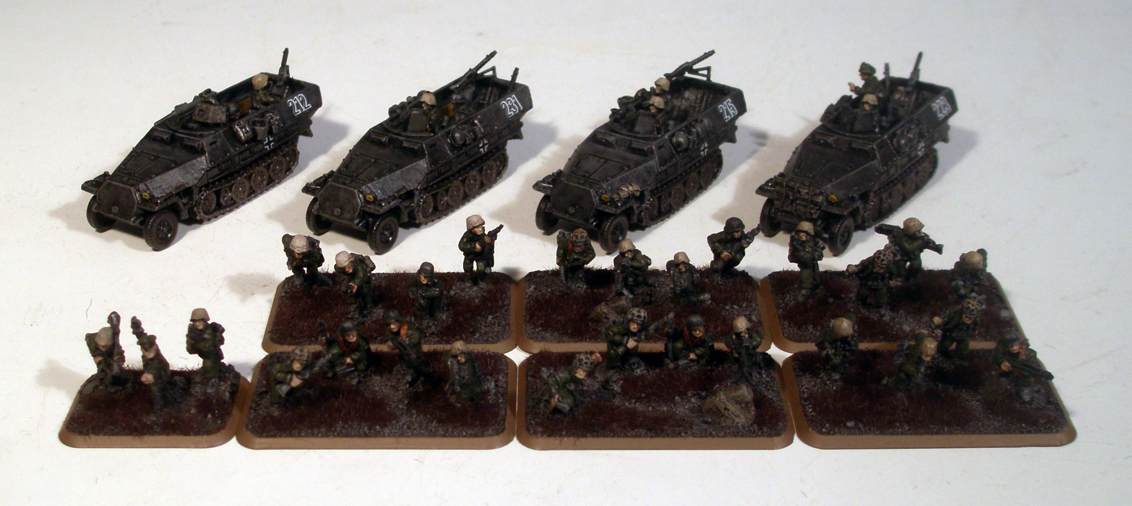 Flames Of War, Germans, Panzer