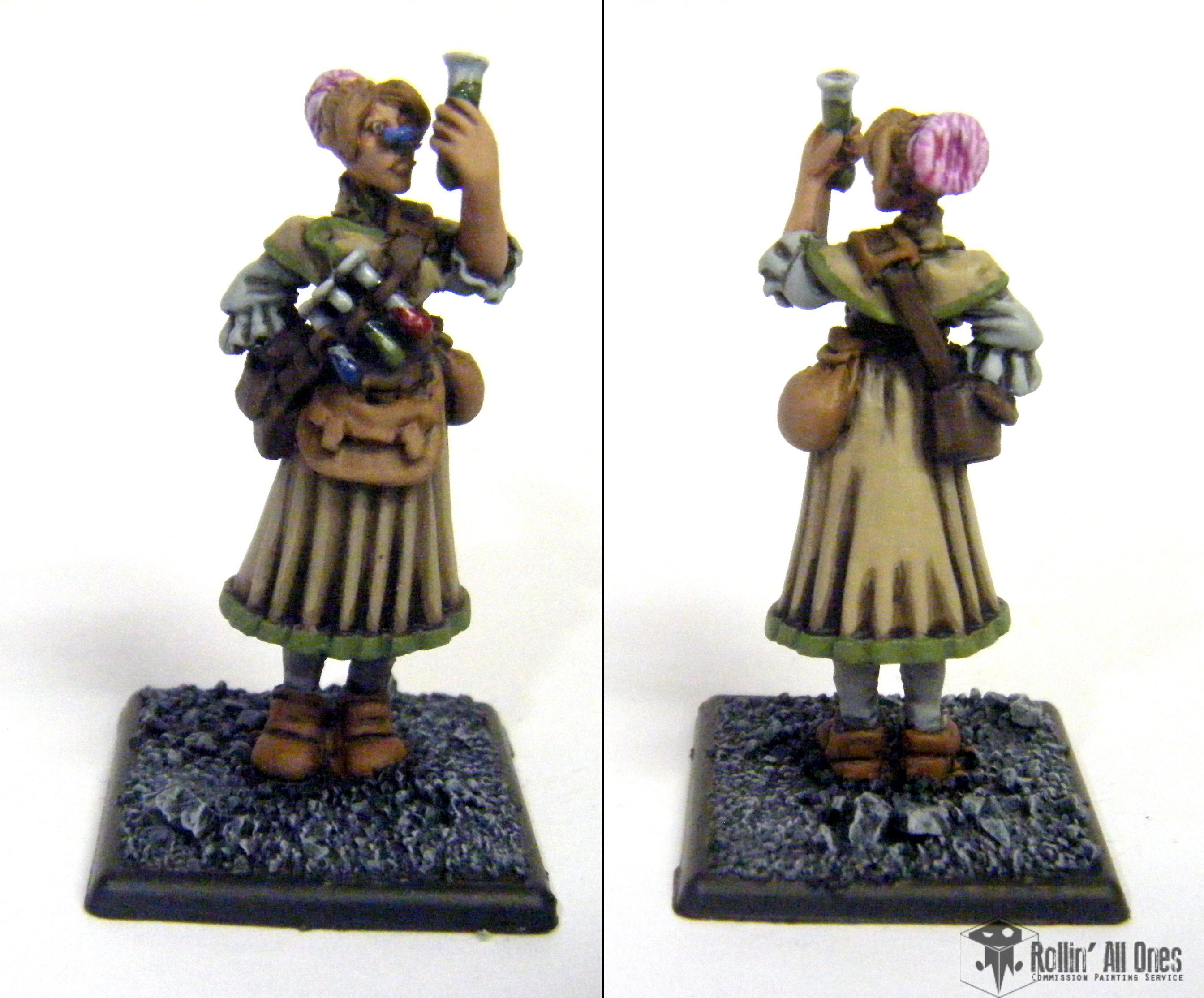 Alchemist, Female
