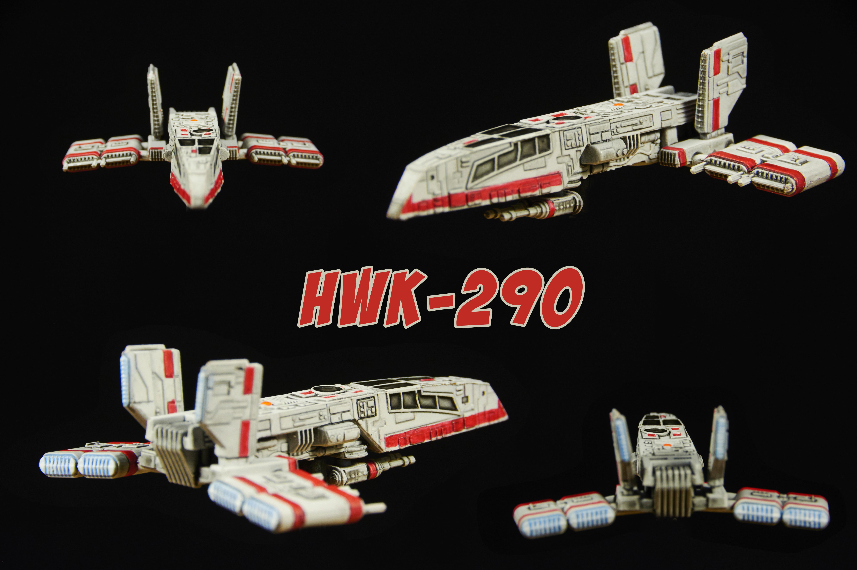 HWK-290 Repaint