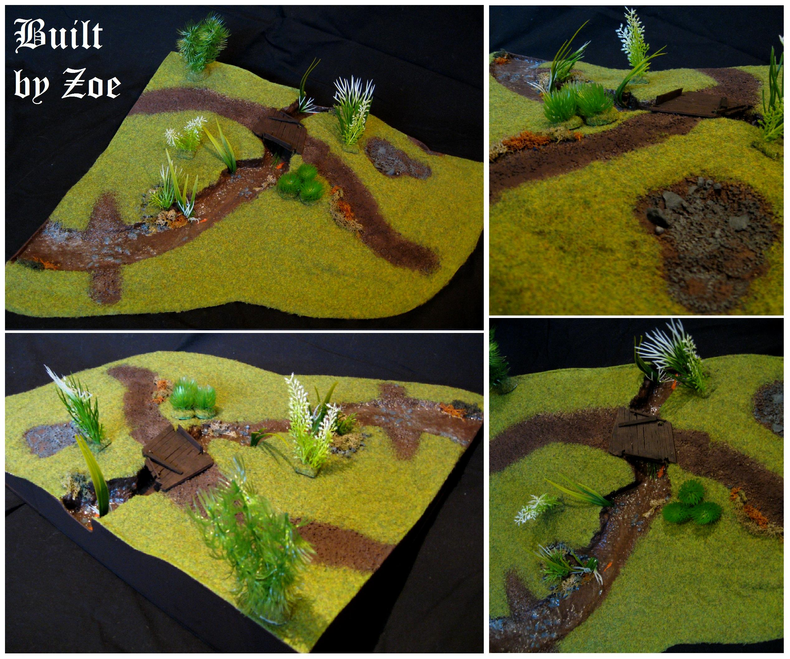 Hills, Scratch Build, Terrain, Water