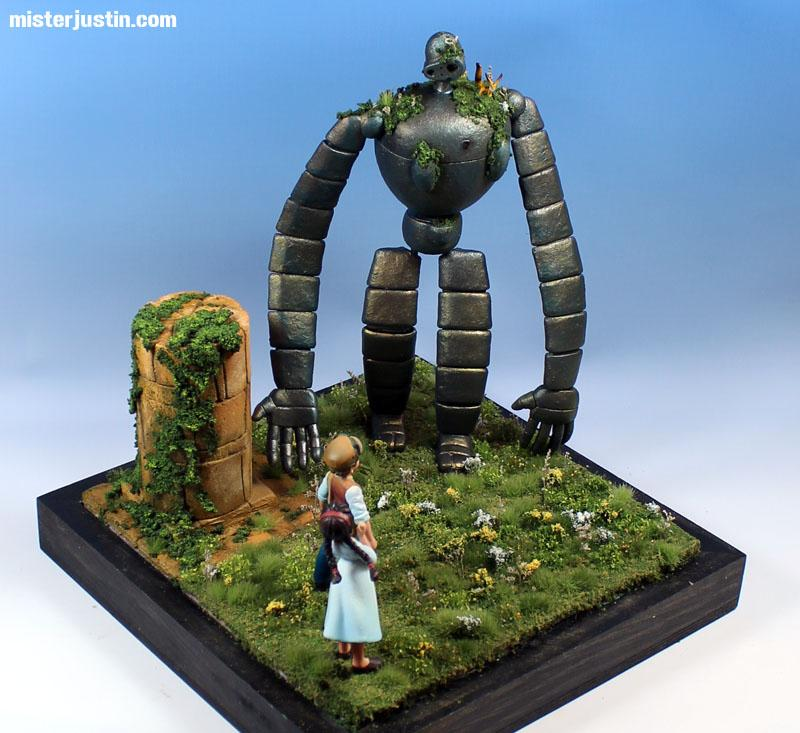Laputa, Robot